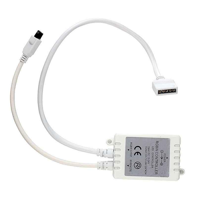 Sıcak!! Mini Uzaktan Kumanda IR/RF Dimmer RGB LED Şerit Işık için 40 Anahtar RF RGBW Denetleyici