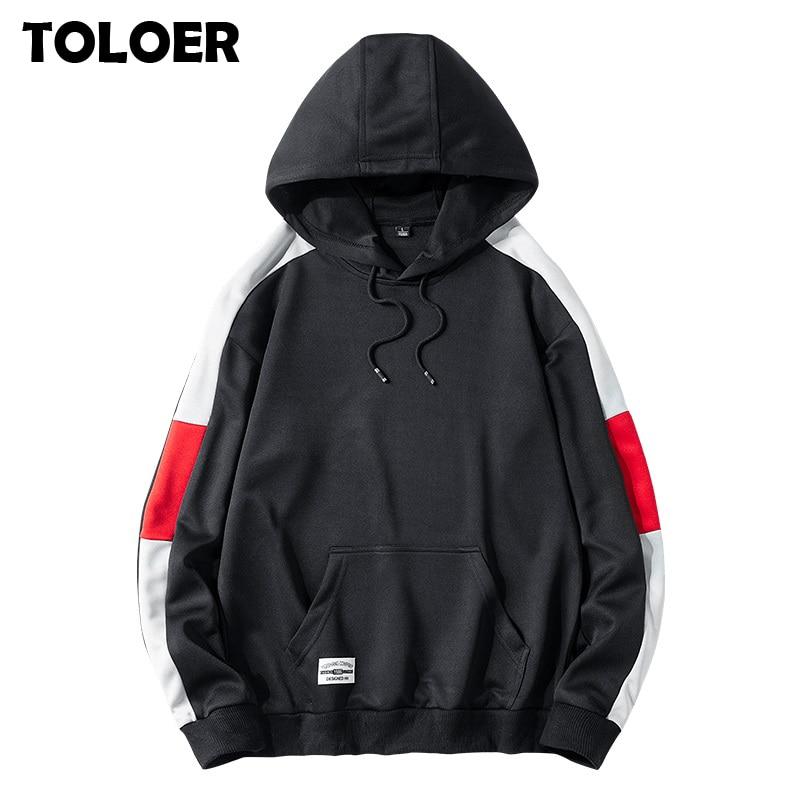 Men Harajuku Hoodies Sweatshirts Oversized 2020 Men Women Streetwear Black Hoodie Male Hiphop Spring Autumn Basic Cotton Hoodies