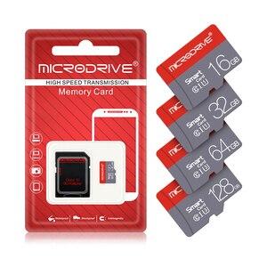 100 шт., карта памяти Micro sd class 10, 16 ГБ, 32 ГБ, 64 ГБ