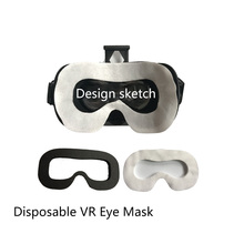 100Pcs VR Glasses Sweat Absorbing Home Face Accessories Protective Eye Mask Cover Soft Hygiene Disposable For HTC VIVE