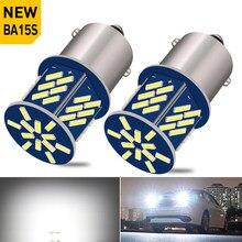2PCS BA15S 1156 P21W led canbus Car Rear Reverse Backup Light Bulb Auto Signal Lamp for Audi A3 8P A4 B6 B8 A5 A6 C5 C6 Q5 Q7