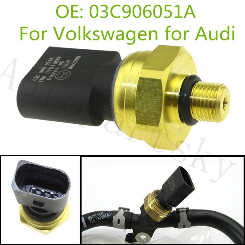 OEM 03C906051A Fuel Injection Pressure Sensor For Audi A8 Quattro Q7 for Volkswagen VW Touareg  03C 906 051A 51CP03 05 51CP0305|Pressure Sensor| |  - title=