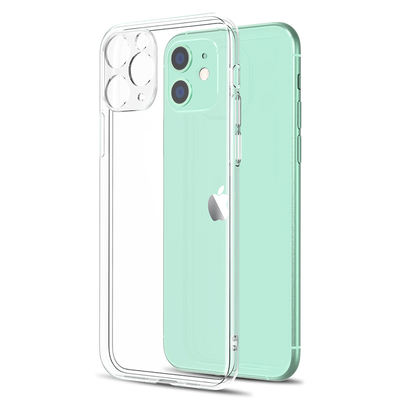 Original Silicone Case For Iphone Se 2020 Transparent Soft Case For Iphone 11 Pro Xs Max Xr X Iphone 8 7 6s 6 Plus 5 5s 4 4s Bag