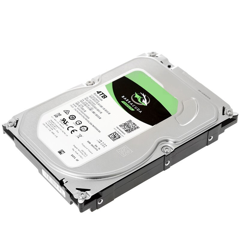 """New HDD For Seagate Brand BarraCuda 4TB 3.5"""" SATA 6 Gb/s 256MB 5400RPM For Internal Hard Disk For Monitoring HDD For ST4000DM004 3"""