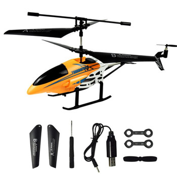 RC Helicopter 3.5 CH Radio Control Helicopter with LED Light Quadcopter Children Christmas Gift Shatterproof Flying Toys 6