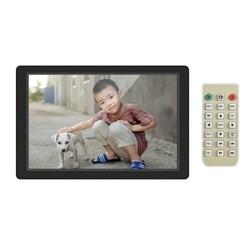 FULL-12.1 Inch Digital Photo Frame LED Screen Electronic Picture Album High Resolution 1280x800(16:9) Clock Calendar 1080P HD Vi