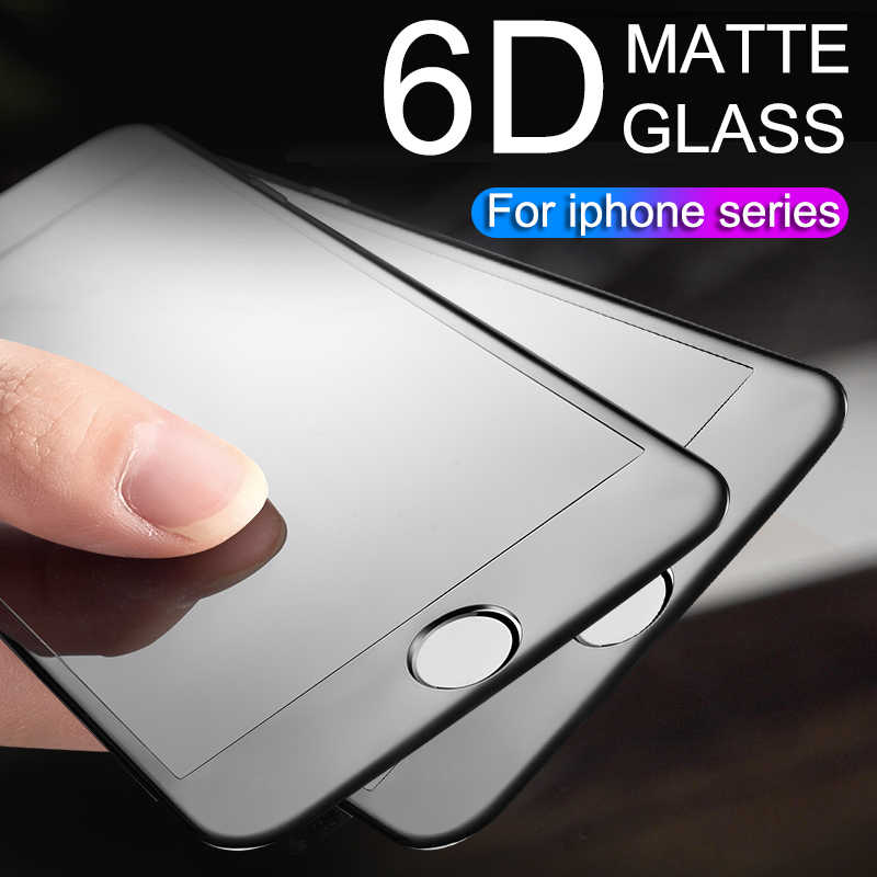6D Full coverage protective glass for iPhone 6 7 6S 8 plus X glass on iphone 7 6s 8 X XS MAX XR screen protector iPhone 7 glass