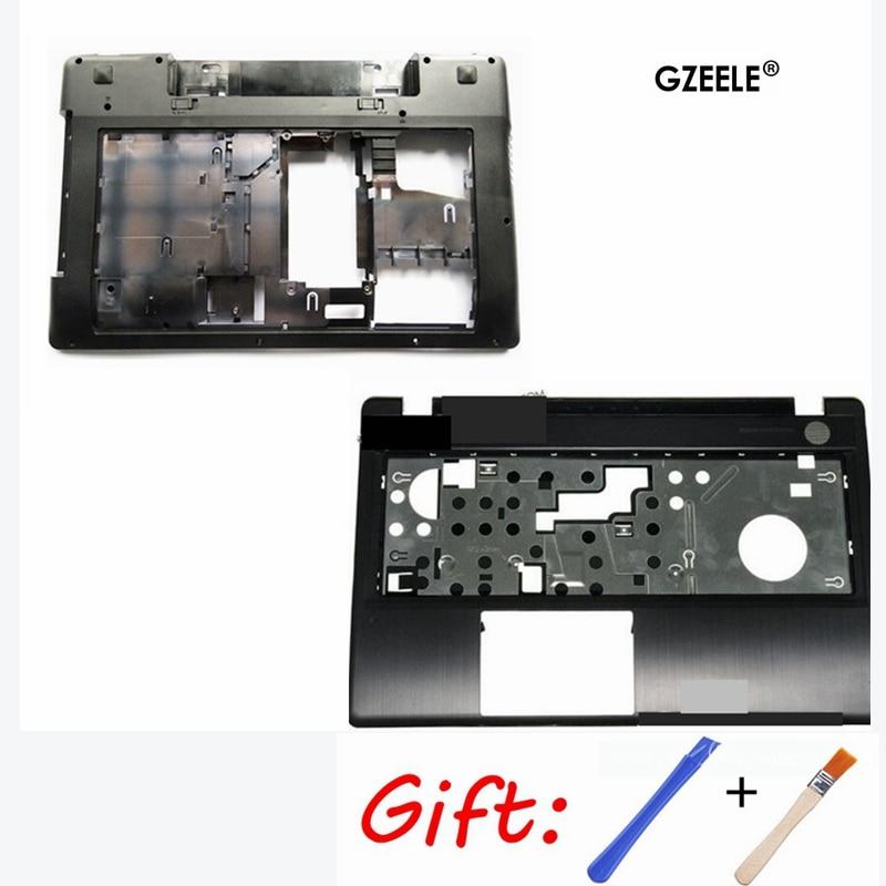 Case Cover For Lenovo Z580 Laptop Series Bottom Case Z585 Base Bottom/ Palmrest COVER