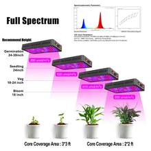 Phlizon 600W 900W 1200W Led Grow Light For Indoor Plant