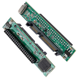 44Pin Female Converter Adapter Card,22-Pin SATA Male to IDE,2.5-Inch Hard Drive,Transfer Rate is 150MB/s,Support Windows, 98SE(China)