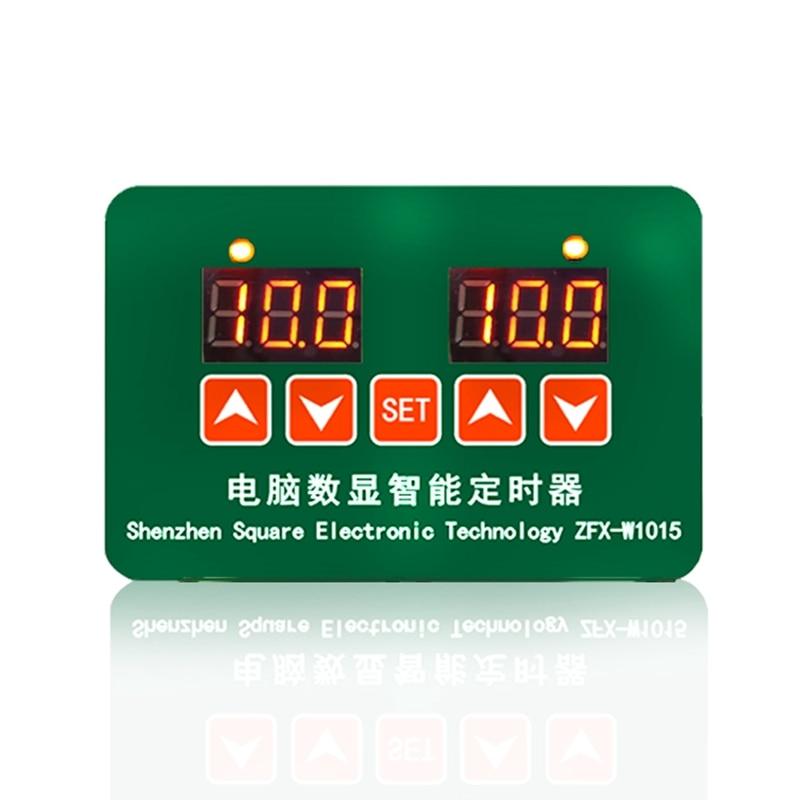 Big Deal ZFX-W1015 12V 24V 220V LED Microcomputer Digital Display Temperature Controller Thermostat Intelligent Time Controller
