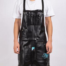High Quality PU Leather Apron For Tattooing Tattooer Reusable Waterproof Apron Semi Permanent Makup Microblading Tattoo Supplies