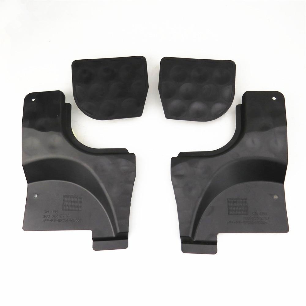 Readxt Nieuwe Auto L & R Bodem Vloer Rails Pan Splash Shield Cover & Blokkeren Blok Up Sabotage Onderdelen Voor passat B6 B7 Cc Nf 3C0825962