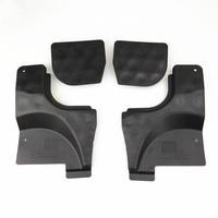 Readxt novo carro l & r piso inferior trilhos pan respingo escudo capa & bloco de bloqueio até calcadeira peças para passat b6 b7 cc nf 3c0825962|Componentes de Chassis|Automóveis e motos -