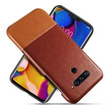 Luxury Stitching PU Leather Slim Phone cases for LG V40 V50 V60 V50s G8s ThinQ G8X Antiskid Anti-fall Untrathin Back Cover Coque(China)