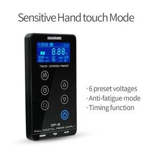 Image 3 - Nuovo Arrivo Touch Screen Intelligente Digitale A CRISTALLI LIQUIDI Trucco Dual Potere Del Tatuaggio Forniture set