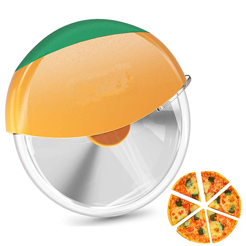 Stainless Steel Round Cutter Slicer Pizza Ring Home Kitchen Cutter Tools