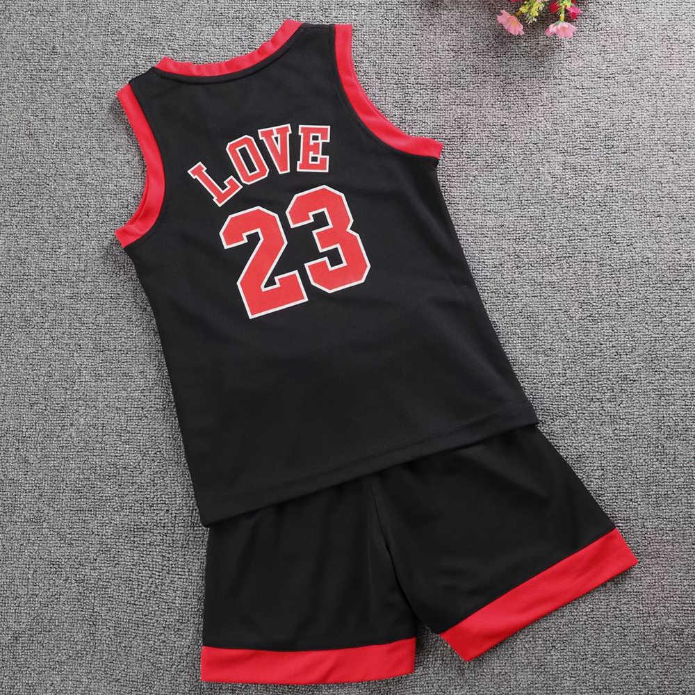 Kinder Basketball Jersey Sets Jungen und mädchen Basketball Uniformen Sport Kit anpassen Blank Jugend Ausbildung basketball trikots kurze