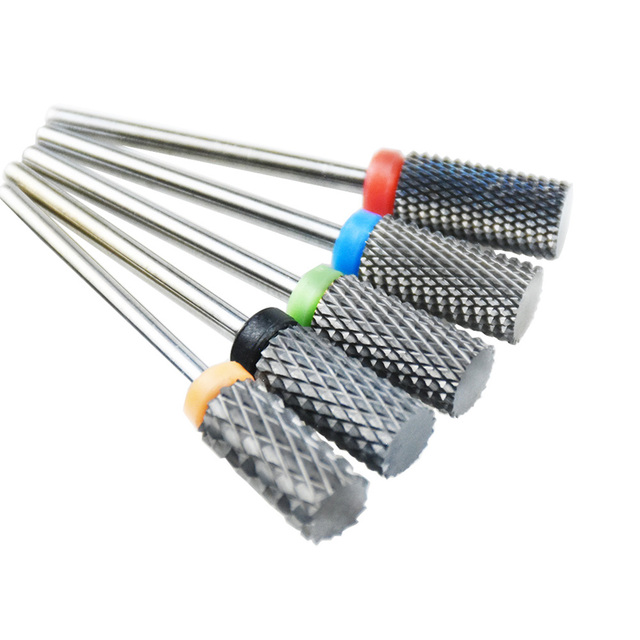 "Nail Drill Bits 25 Type 3/32"" Tungsten Carbide Electric Drill bits Manicure Machine Accessories Nail Files Manicure Mill 4"