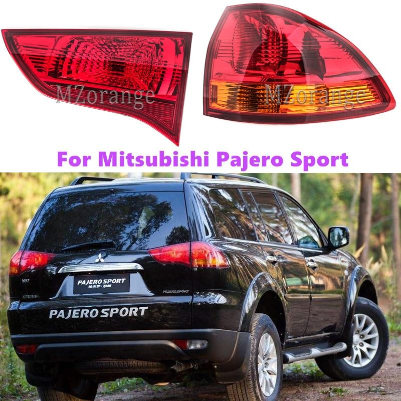 Car Styling Tail Light For Mitsubishi Pajero Sport Taillights LED Tail Lamp Rear Lamp DRL+Brake+Park+Signal lights