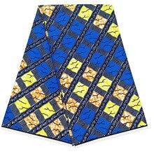 100% cotton dutch ankara wax Printed pattern African veritable wax prints fabric 6 yards new african veritable wax prints fabric dutch ankara wax printed pattern 100