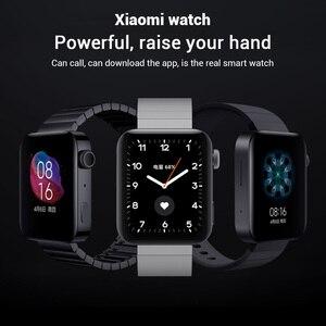 Image 2 - Xiao Mi Mi Smart Horloge Gps Nfc Wifi Esim Telefoontje Armband Horloge Sport Bluetooth Fitness Hartslag Mi Bluetooth horloge