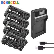 Bonacell NP-F550 Rechargeable Li-ion battery For Sony NP-F330 NP-F530 NP-F570 NP-F730 NP-F750 NP-F770 NP-F970 Camera Batteries doscing 4pcs 7200mah np f960 np f970 np f930 rechargeable camera battery for sony f950 f330 f550 f570 f750 f770 mvc fd51
