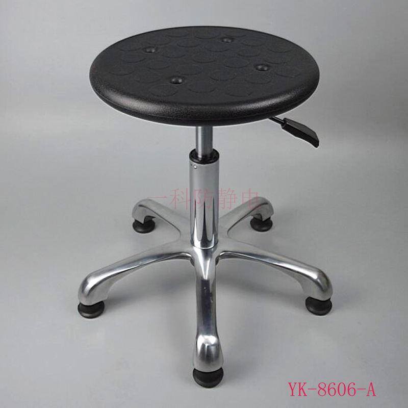 Manufacturers Direct Selling Anti-static Industrial Chair Industrial Chairs PU Foaming Laboratory Round Stool Chair Currently Av