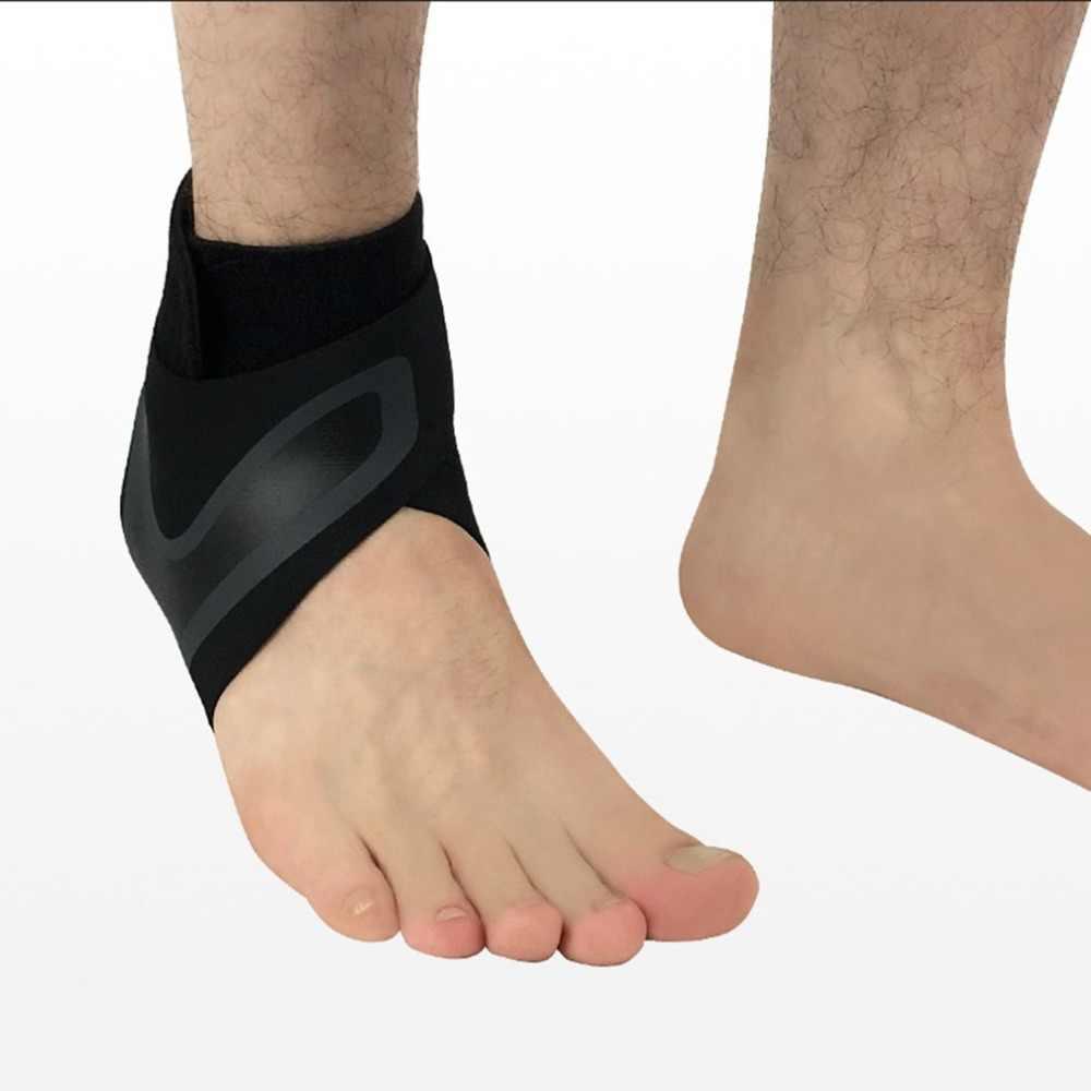 Hewolf 1 pçs fitness ajustável d-ring tornozelo cintas pé suporte tornozelo protetor gym perna pularia com fivela esportes pés guarda