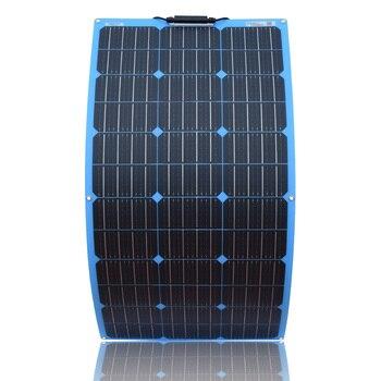 XINPUGUANG 18V 100W Solar Panel Flexible Plate cell 100 watt 200W 300W 500W 800w 1000w 12v 24v 36v 48v 1