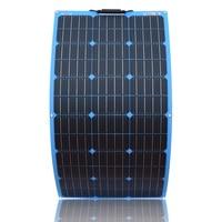 XINPUGUANG 18V 100W Solar Panel Flexible Plate cell 100 watt 200W 300W 500W 800w 1000w 12v 24v 36v 48v