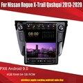 Головное устройство Aucar в стиле Tesla Android для Nissan Rogue/ X-Trail Qashqai PX6 Android радио 2013-2020 мультимедийный стереоплеер Wi-Fi