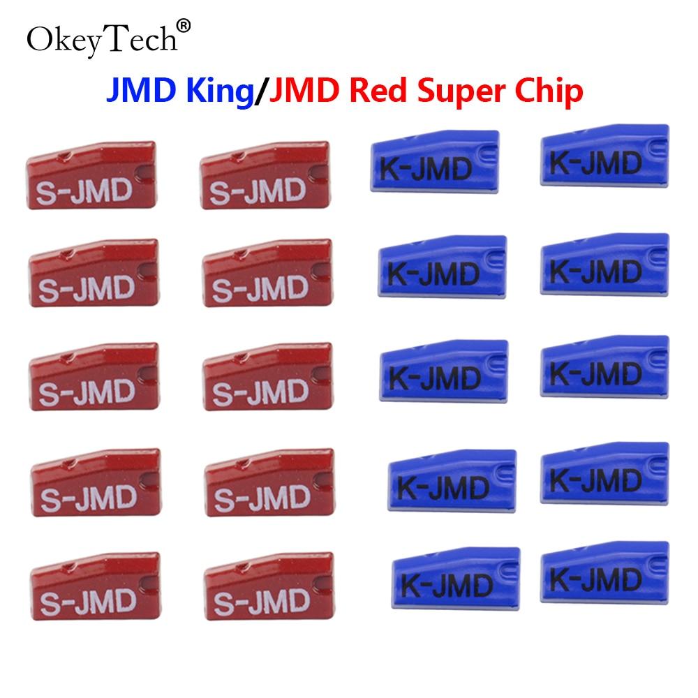 Okeytech 5/10/20/50 шт JMD King/JMD красный супер чип-ключ для автомобиля чип оригинальный JMD King чип для удобного ребенка для JMD 46/48/4C/4D/G чип