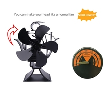 Magnetic Fireplace Fan Stove Thermometer for Log Wood Burner Temperature Gauge 1XCC