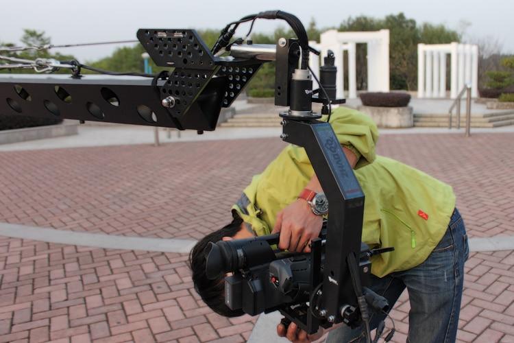 32,8ft поворотная головка 10 кило камера стрела крана рукоятка стрелы нагрузка 10 кило машина 7 дюймов HDMI монитор
