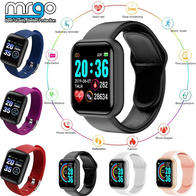 2020 Smart Watch Men Women Smartwatch Android Kids Gift BluetoothConnect Heart Rate Blood Pressure Monitor Sport Smart Watch 1