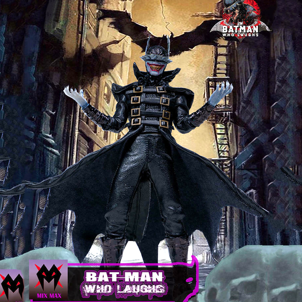 In stock 1/12 Batman Who Laughs Dark Nights Metal Kits for 6inches body