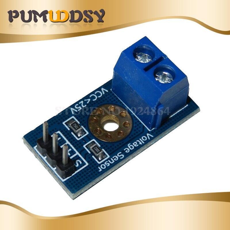 1 stücke DC 0-25V Standard Spannung Sensor Modul Test Elektronische Ziegel Roboter Diy Kit