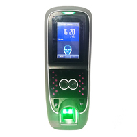 Biometric Face and fingerprint door access control system Time Attendance with Optional Build In card Reader