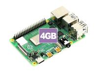 Raspberry Pi 4 Model B 4GB RAM 64 bit 1.5GHz quad core Gigabit Ethernet Bluetooth 5.0 USB Type C power supply
