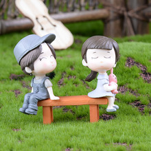 Gardening-Decoration Ornament Miniature Chair DIY Cute of for Toy Handmade Craft Model-Landscape