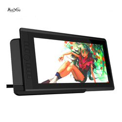 HUIYOU D161 15.6-inch drawing monitor with 7 shortcut keys (92% NTSC, 8192 liquid level pressure, 2 batteryless pens)