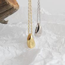 Новый kpop темперамент простая Капля воды кулон для женщин ожерелье
