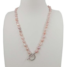 100% NATURE FRESH-WATER PEARL NECKLACE