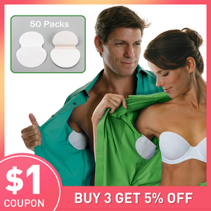 200pcs 100 Packs Summer Armpit Sweat Pads Underarm Deodorants Stickers Absorbing Disposable Anti Perspiration Patch Wholesale