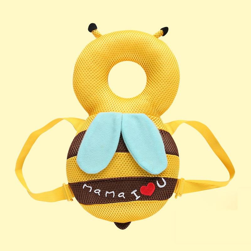 Baby Head Protection Pad Infant Anti Crash Pad Cute Nursing Drop Resistance Cushion Baby Room Walk Headrest Pillow