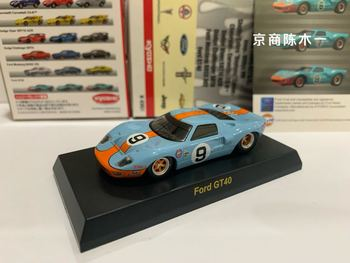 Kyosho Auto 164 Ford GT40 Le Mans #9 Gulf Collection Car