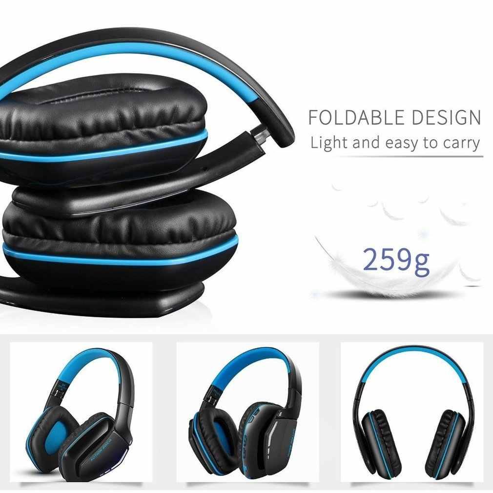KOTION каждый Bluetooth наушники Беспроводная и Проводная стерео гарнитура Hi-Fi над ухом со встроенным микрофоном наушники