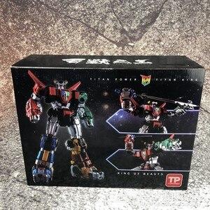 Image 3 - In Voorraad Titan Power Titanpower Tp TP 01 TP01 Titan Beest Koning Chogokin Voltron W/Led Action Figure