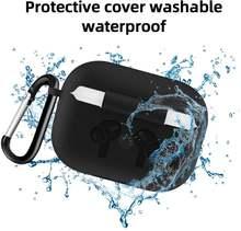 Силиконовый чехол защитный для наушников apple airpods pro tws